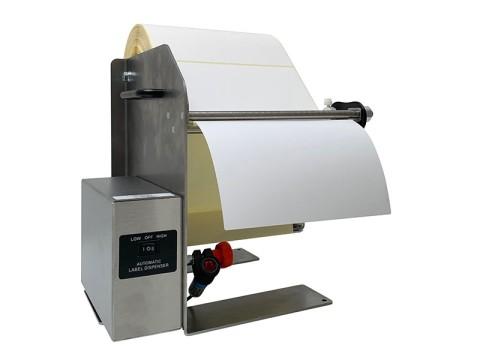LD-300-RS-SS - automatischer Etikettenspender, Etikettenlänge 6-300mm, Etikettenbreite bis 218mm, Edelstahl
