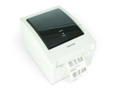 B-EV4T-GS14-QM-R - Etikettendrucker, Thermotransfer, Parallel + RS232 + USB + Ethernet, SD-Karten Slot, 203dpi