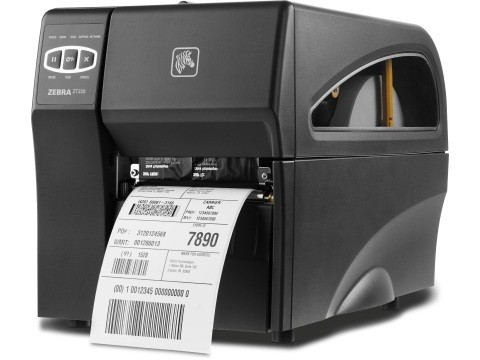 ZT220 - Etikettendrucker, thermodirekt, 203dpi, 114mm, USB + RS232 + Ethernet
