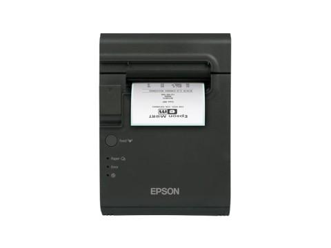TM-L90LF - Thermodirektdrucker für trägermaterialfreie Etiketten, USB + RS232, schwarz