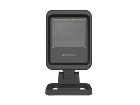 Genesis XP 7680g - Stationärer 2D-Barcodescanner mit Standfuss, USB + RS232 + KBW, schwarz