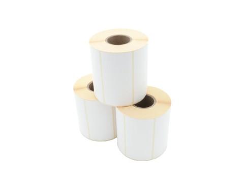 Etikettenrolle - Thermotransfer, 100 x 50mm, D105mm, Kern 40, 930 Etiketten/Rolle, permanent