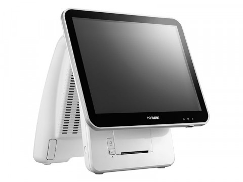 "Imprex Prime J1900 - Lüfterloses Touchsystem mit 80mm Bondrucker, Celeron J1900 Quad Core und kapazitivem 17"" (43.1cm) Touchscreen, weiß"