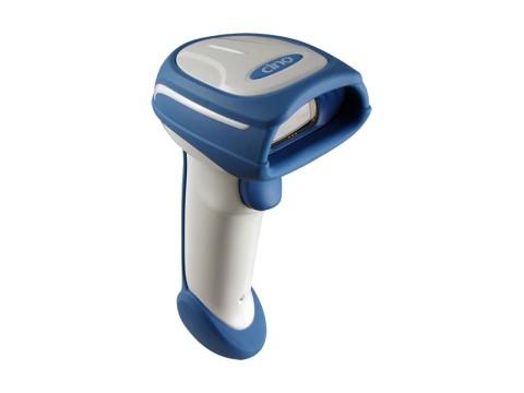 FuzzyScan A770HC - 2D-Barcodescanner für das Gesundheitswesen, SR, USB-KIT, weiss