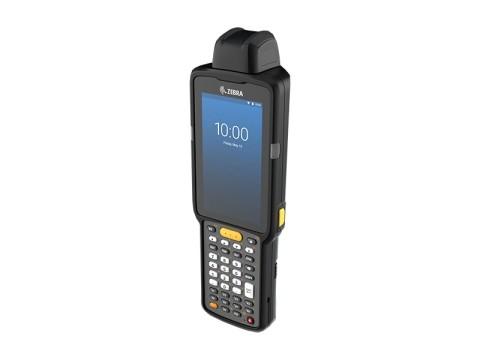 MC3300x - Mobiler Computer, Android, 1D Laser, 38 Tasten, Funktional numerisch, drehbarer Kopf