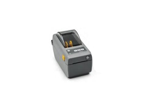 ZD410 - Etikettendrucker, 300dpi, thermodirekt, USB, verschiebbarer Sensor, dunkelgrau