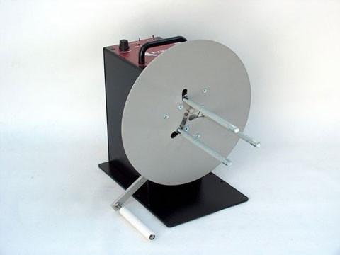 CAT-3-TA-ACH - externer Etiketten-Ab-/Aufwickler mit Spann-Arm und einstellbarer Kernhalterung, inkl. Justierer/Spann-Arm