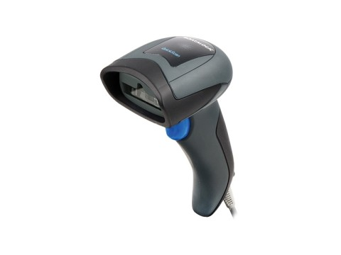 QuickScan I QD2131 - CCD-Barcodescanner, USB-KIT mit Ständer, schwarz