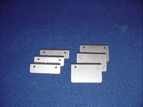 """VANES 70 - Kern-Flügelräder (3 Stück) für 70mm-Kern für Standard Shaft und 10"""" Shaft"""