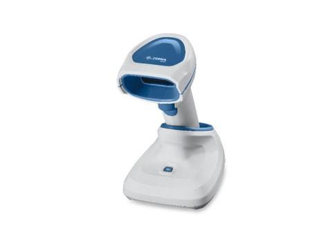 DS8178-HC - Kabelloser 2D-Imager für das Gesundheitswesen, Standard Reichweite, PowerCap, USB-Präsentations-KIT, weiss