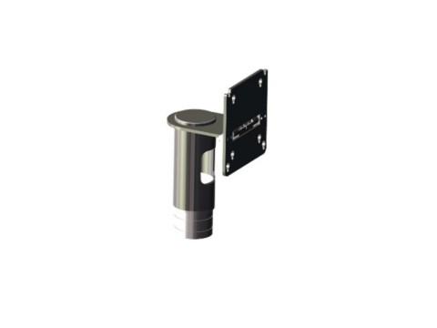 Bildschirmhalterung - VESA 75/100, Rohrdurchmesser 54mm, Höhe 110mm, Länge des Auslegers 68mm, kippbar