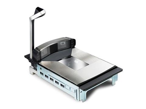 Magellan 9800i - Einbau-Barcodescanner, Adaptive Scale, Mittellanger Scanner, Sapphire-Glas, TDR tall, EAS, USB