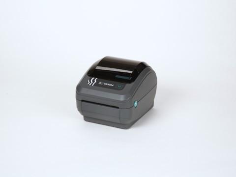 GK420d - Etikettendrucker, 203dpi, Thermodirekt, r2.0 USB und Ethernet (10/100), EPL und ZPL