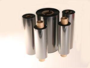 TMX 1310 / GP02 - Farbband Standard Wachs, 220m x 60mm, 1 Zoll-Kern, innen beschichtet