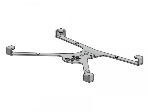 X-Frame - Tablethalter für ASUS Transformer Mini T103H, schwarz