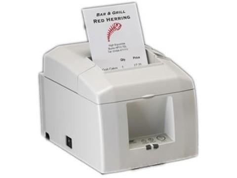 TSP654IIE-24 - Bon-Thermodrucker mit Abschneider, 80mm, Ethernet-KIT, weiss