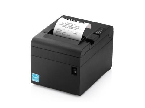 SRP-E300 - Thermo-Bondrucker mit Abschneider, 80mm, 180dpi, USB + RS232 + Ethernet, schwarz
