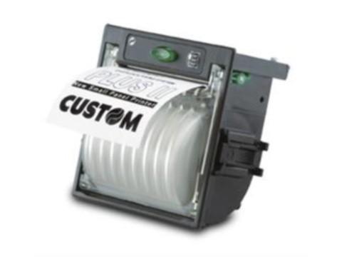 PLUS II - Kioskeinbaudrucker, thermodirekt, 58mm, RS232 + USB, 4-7.7V