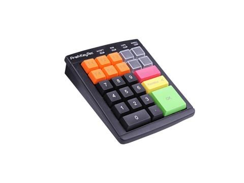 MCI 30 - Programmierbare Kassentastatur, bestückt mit 1er Tasten, Magnetkartenleser Spur 1,2,3, USB, schwarz