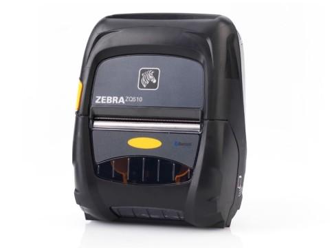 ZQ510 - Mobiler Etikettendrucker, thermodirekt, 203dpi, 72mm Druckbreite, USB + Bluetooth + WLAN, Linerless