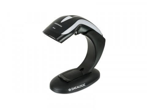 Heron HD3130 - CCD-Barcodescanner mit Ständer, USB + RS232 + PS2, schwarz