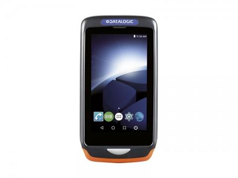 Joya Touch A6 Handheld - Mobiler Computer mit weißem 2D-Imager, Android 7.1 Nougat, dunkelgrau-orange