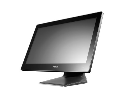 "APEXA AW-1950 - Lüfterloses Touchsystem mit Android 7 und kapazitivem Widescreen 19.5"" (49.53cm) Touchscreen, WiFi/BT, schwarz"