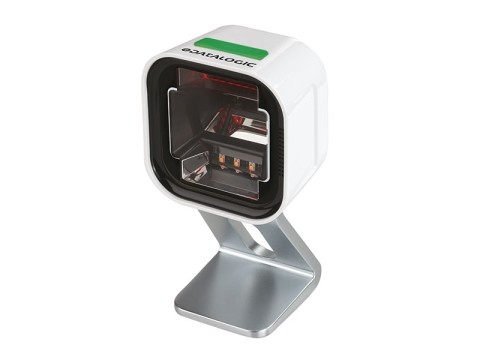 Magellan 1500i - 2D-Präsentationsscanner, Digimarc, USB-KIT, Kippständer, weiss