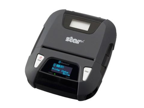 SM-L300 - Mobiler Thermodirekt Bondrucker, 58mm, Bluetooth, Magnetstreifenleser, schwarz
