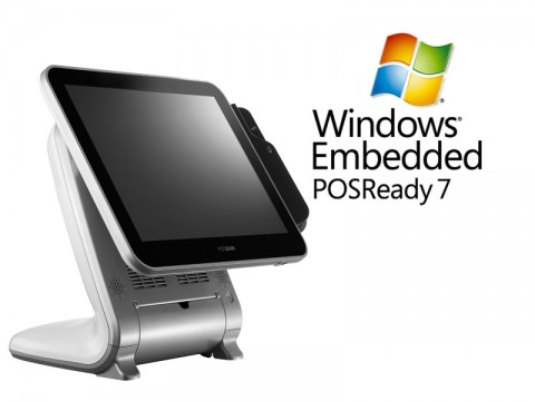 Aktionsartikel: AnyShop Prime Touchsystem weiß + Microsoft PosReady 7 32bit