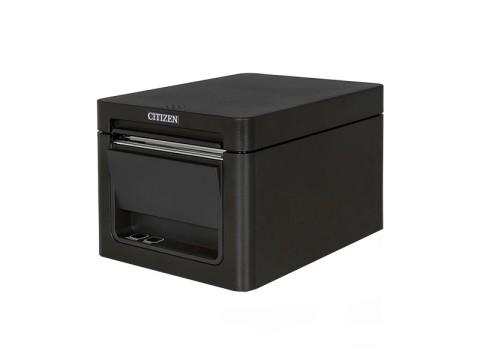 CT-E651 - Bondrucker mit Abschneider, thermodirekt, Frontausgabe, 80mm, USB, Lightning + USB Host, schwarz