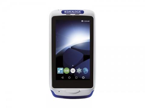 Joya Touch A6 Handheld - Mobiler Computer mit rotem 2D-Imager, Android 7.1 Nougat, grau-blau