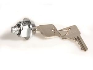 Schloss für ADS Springdeckel 2D001**Schließung 01** für Standard-, Euro-Geldkassette, UCC, UCD, OCC OmniOpion (TC4616)