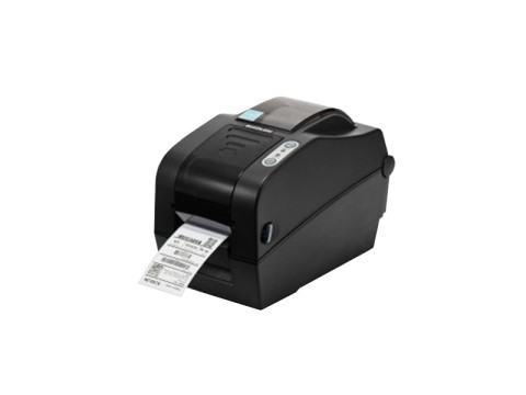 SLP-TX223 - Etikettendrucker, thermotransfer, 300dpi, USB + RS232 + Ethernet, dunkelgrau