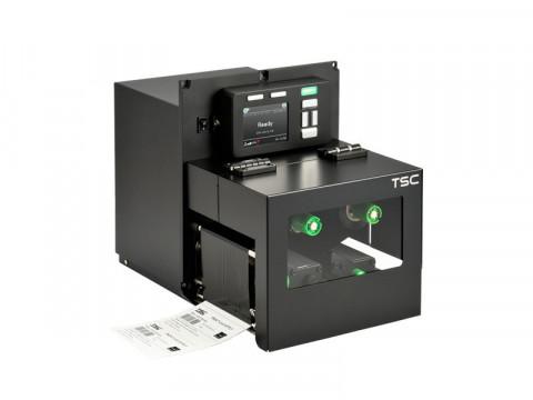 PEX-1130 - Stationäres Etikettendruck-Modul, thermotransfer, 300dpi, Druckgeschwindigkeit 356mm/Sek., linke Hand