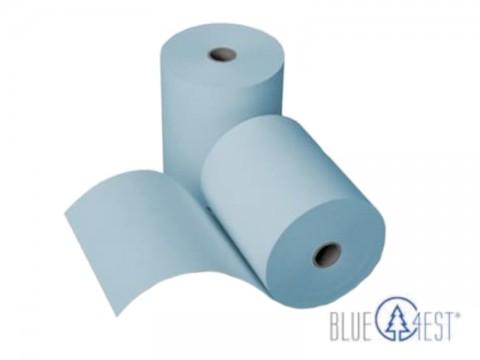 Thermorolle - 80 80 12 (B/D(max.)/K) Blue4est® (Blau) Ökopapier, 80m, 52g, 35 Jahres Qualität, lebensmittelverträglich