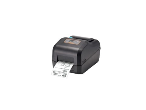 XD5-43t - Etikettendrucker, thermotransfer, 300dpi, LCD-Display, USB + USB Host + RS232 + Ethernet, schwarz