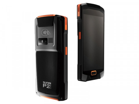 "P2 LITE - Mobiles Datenerfassungsgerät, 5"" Display, Android 7.1, Magnetkarten- und Chipkartenleser, 1D-CCD-Barcodescanner"