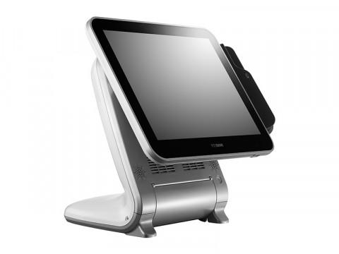 """AnyShop Prime J1900 - Lüfterloses Touchsystem mit Intel Celeron J1900 Quad Core und kapazitivem 17"""" (43.18cm) Touchscreen, weiß"""