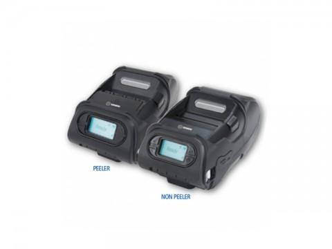 LK-P12II - Mobiler Thermo-Bon-/Etikettendrucker, 58mm Papierbreite, USB + RS232 + Bluetooth (Android/IOS), Etikettenspender