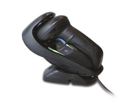 Gryphon GBT4500 - Kabelloser 2D-Barcodescanner, USB-KIT mit Lade-/Übertragungsstation, schwarz