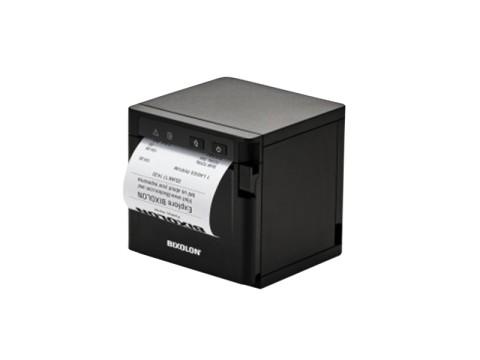 SRP-Q302B - Akkubetriebener Thermo-Bondrucker mit Front-Ausgabe, 203dpi, USB + Ethernet + WLAN, schwarz
