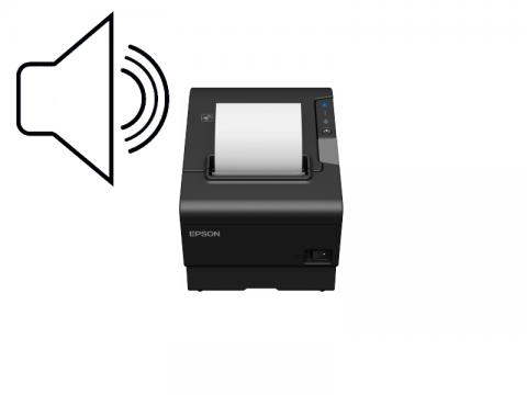 TM-T88VI - Bon-Thermodrucker, USB + Ethernet + RS232, Buzzer, schwarz