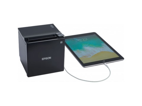 TM-m30II-H - Bon-Thermodrucker mit Hub-Funktion, 80mm, USB + Ethernet + Bluetooth, weiss