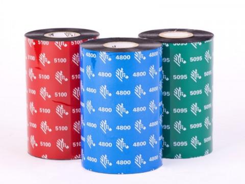 2300 wax - Farbband European Wachs, 74m x 33mm, 1/2 Zoll-Kern, außen beschichtet