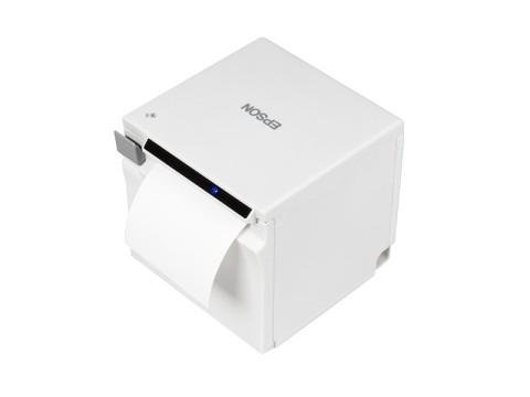 TM-m50 - Bon-Thermodrucker, 80mm, USB + RS232 + Ethernet, weiss