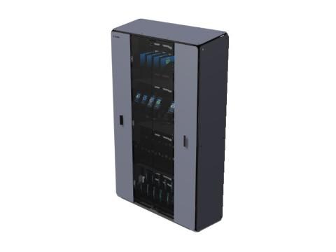 Cabinet Extreme - 4 Regale für bis zu 50 Geräte, Schloss mit 2 Schlüsseln
