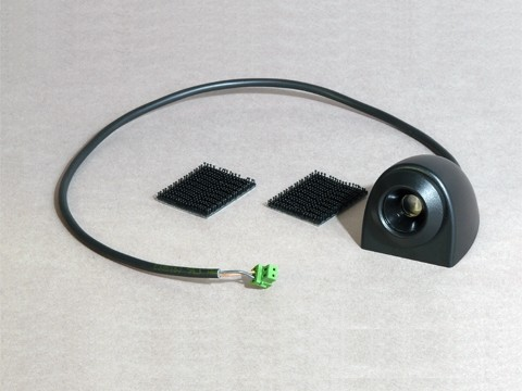 Stift-Kellnerschloss - Standard, mit 2pol. Buchse, Kabellänge 0.35m, Dallas-Chip, schwarz