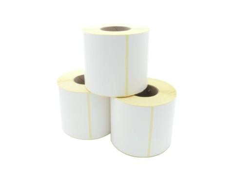 Etikettenrolle - Thermotransfer, 148 x 210mm, D180mm, Kern 76, 700 Etiketten/Rolle, permanent