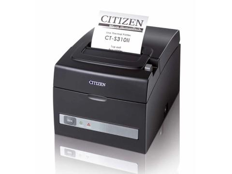 CT-S310II - Thermo-Bondrucker mit Abschneider, 80mm, USB + RS232, schwarz